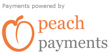 Powered by Peach Payments